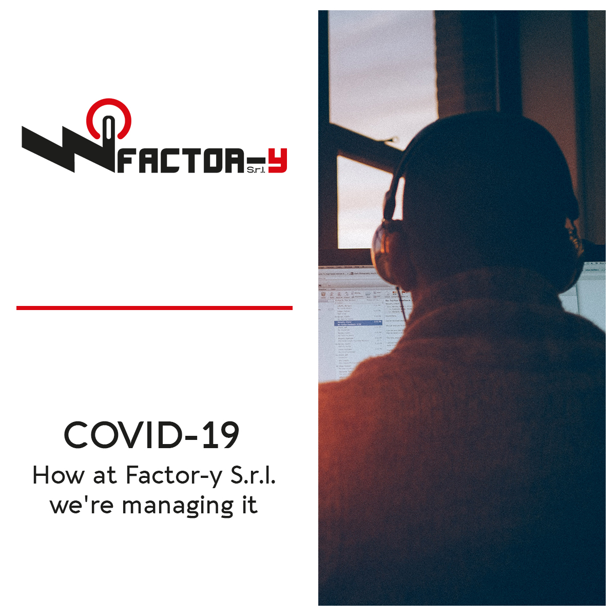 COVID-19 - How at Factor-y S.r.l. we're managing it